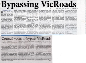 Horsham VicRoads problems Weekly Advertiser 19_08_15 (1)